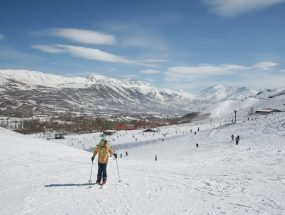 چگونه به پیست اسکی آبعلی برویم - تهران