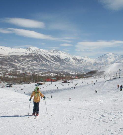 چگونه به پیست اسکی آبعلی برویم – تهران