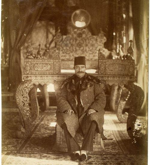 عکس تاریخی از ناصرالدین شاه