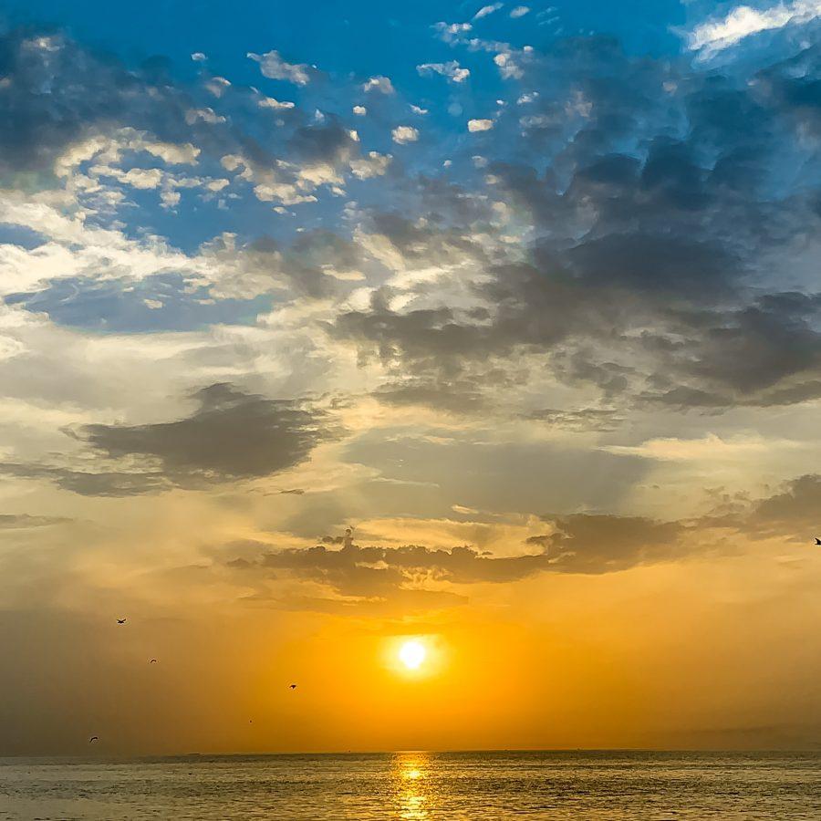 غروب آفتاب – بندر بوشهر