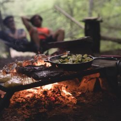 آشپزی در دل طبیعت